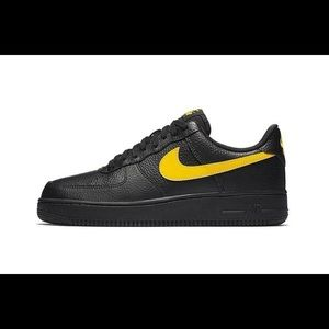 "Air Force 1 '07 LV8 Low in ""Black/Amarillo"